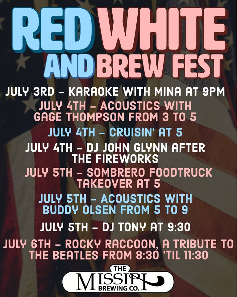 Red white and Brew fest